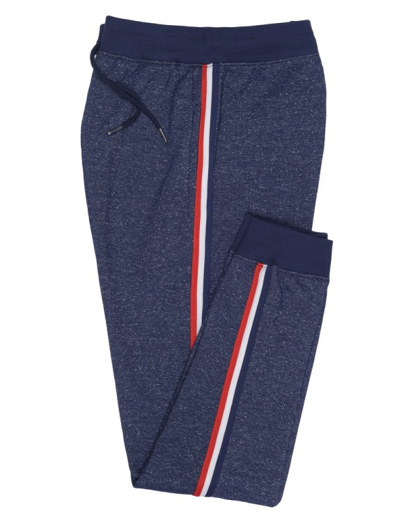 Navy Blue Knitted Relaxing Pajama