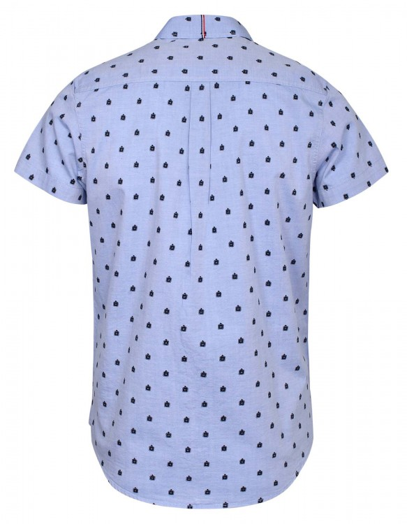 LIGHT BLUE CASUAL HALF SLEEVE SHIRT